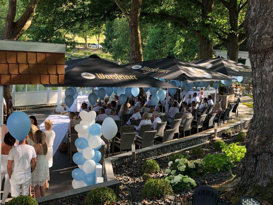 Hochzeit im Haus am See